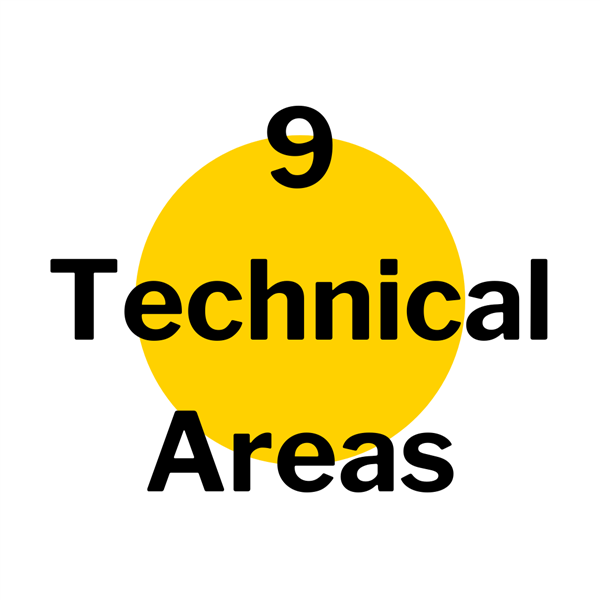 9 Technical Areas