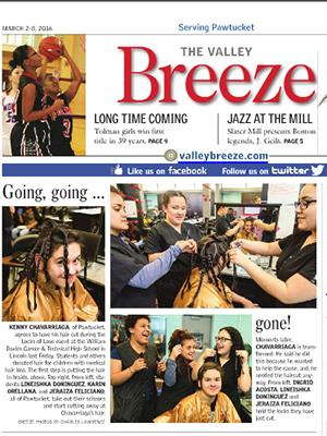 Cosmetology Students Participate in Locks Of Love Event