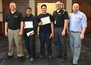 Davies Career and Tech Winners at Ocean State Auto Tech