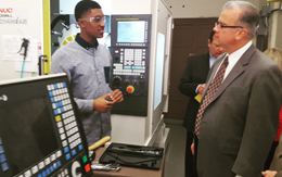 State Leadership Visits Davies Tech