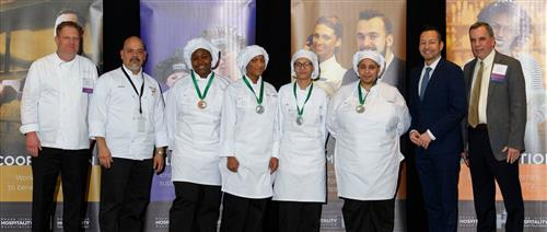 Culinary 2nd place winners at 2020 ProStart competition