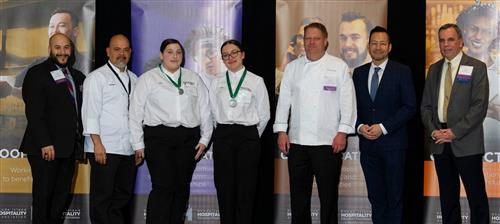 Hospitality Management 2nd place winners at 2020 ProStart Competition